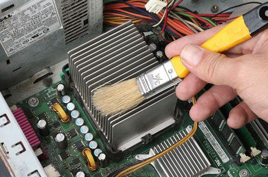 Чистка системы охлаждения ноутбука и компьютера